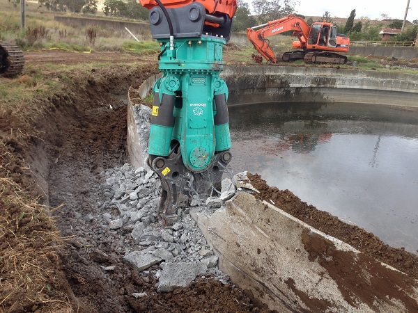 Water Treatment Plant Demolition : Toowoomba oakey wetalla treatment plants wma demolition